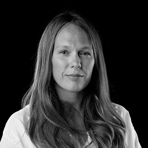 Portrait noir et blanc de Barbara BRANDMAIR