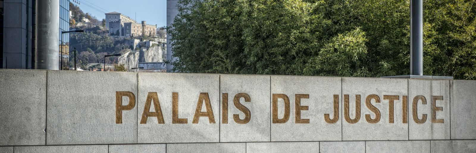 Photo du Palais de Justice de Grenoble