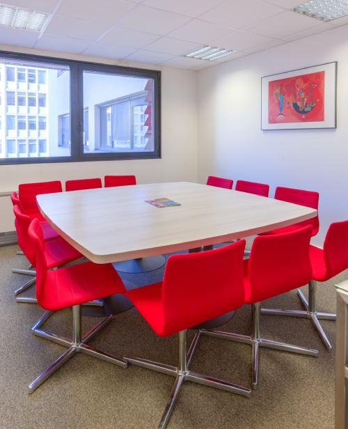 Photo d'une salle de réunion du cabinet